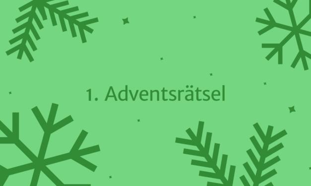 """1. Adventsrätsel 2018: """"Was weißt du über unsere Schule?"""""""