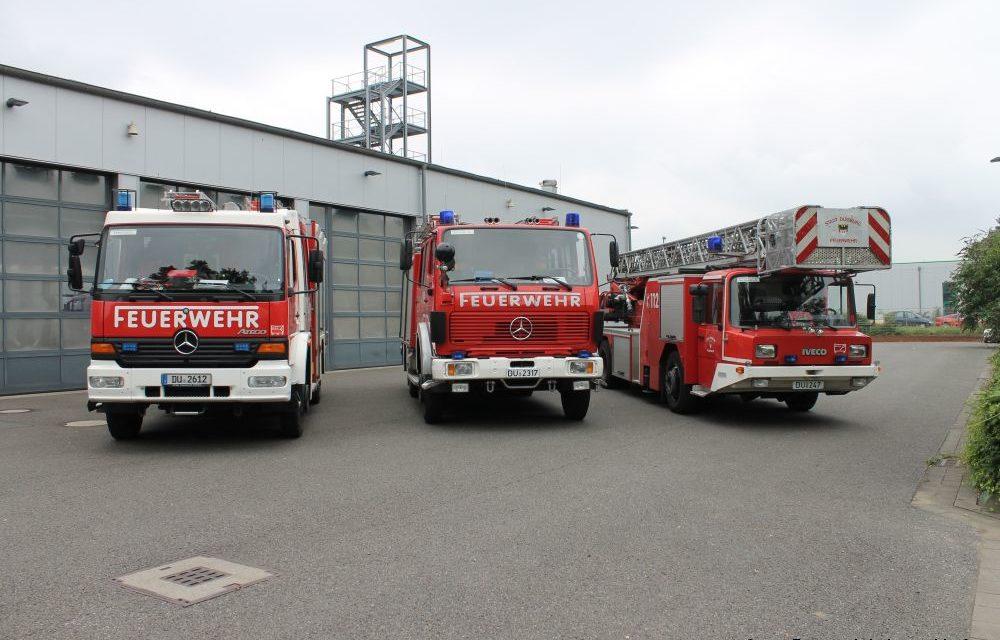 Feuerwehr Duisburg an Silvester