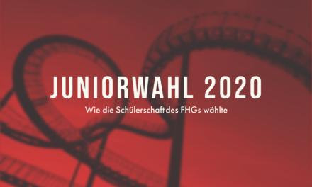 Juniorwahl 2020 – Auch am FHG wurde gewählt!